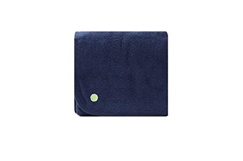 PeapodMats Waterproof Reusable & Breathable Bedwetting Incontinence Mattress Protector Pad - Navy Blue 3x3