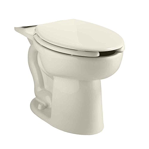 - American Standard 3483.001.222 Cadet Right Height Elongated Pressure Assisted Two Piece Toilet, Linen