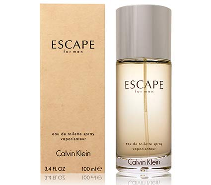 C K Escape For Men Eau De Toilette Spray 3.4 OZ. ()