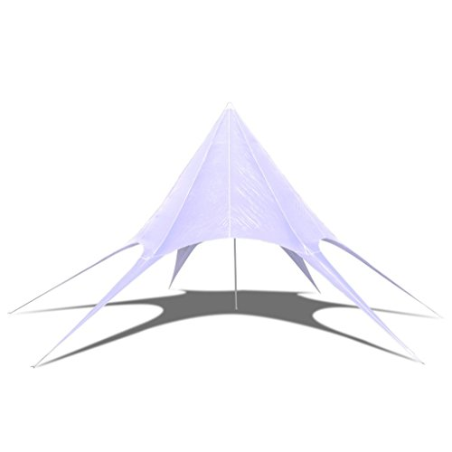 Zelt 10 Meter : Vidaxl meter sternzelt partyzelt zelt gartenzelt