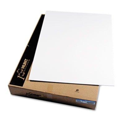 Elmer's - CFC-Free Polystyrene Foam Board, 40 x 30, White Surface and Core, 25/Carton 900510 (DMi CT by Elmer's