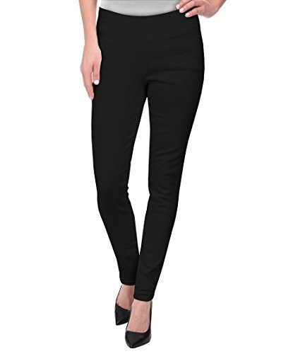 HyBrid & Company Super Comfy Stretch Pull On Millenium Pants KP44972 Black 3X]()