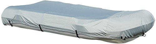 Leader Accessories ShoreGuard Polyester Grey Waterproof Rib Boat Cover (12.5' L X 70'' W)