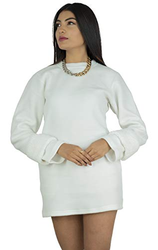 Amiee Women's Fleece Winterwear Round Neck Sweatshirt