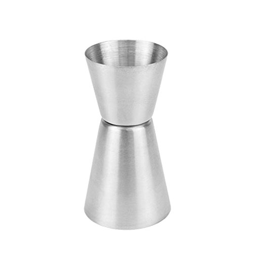 35/50ml Stainless Steel Bar Measures Jigger Party Wine Cocktail Dual Spirit Drink Measure Cup