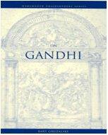 On Gandhi (Wadsworth Philosophers Series)