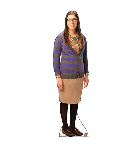 Advanced Graphics Amy Farrah Fowler Life Size Cardboard Cutout Standup - The Big Bang Theory