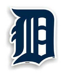 Detroit Tigers Logo MLB Car Magnet
