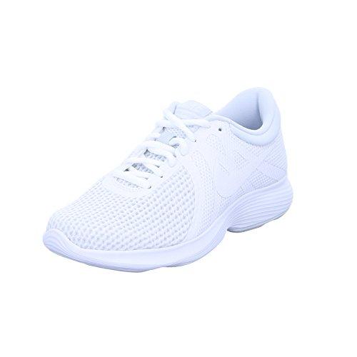 Weiß Pure 100 EU Laufschuhe Revolution 4 White White NIKE Damen Platinum 8vqXSS