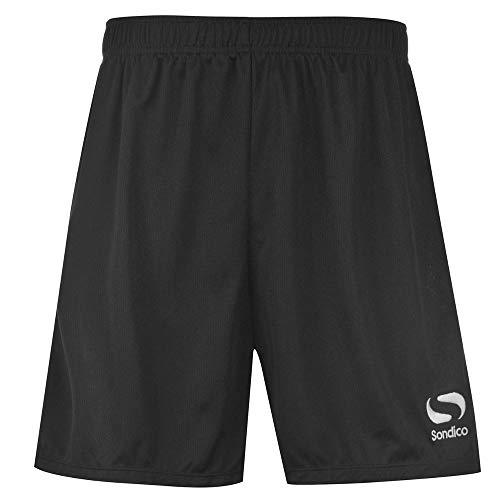 b191120a838 Sondico Men s Core Soccer Shorts Black S