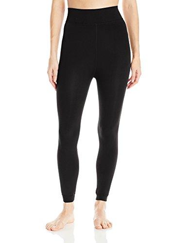 Hottotties Women's Lux Velvet Legging, Black, Small