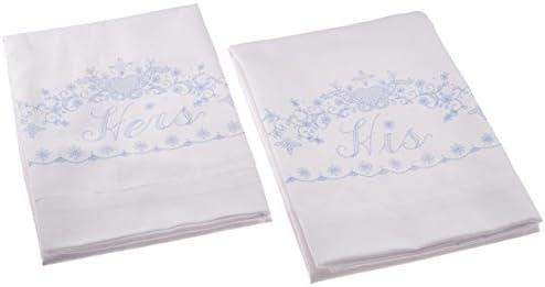 "Janlynn Stamped Cross Stitch Pillowcase Pair 20/""X30/""-Lighthouse"