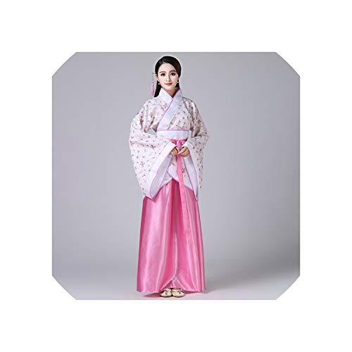 Hanfu Emboridery Traditional Chinese Style Dance Costumes