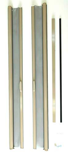 Casper Retractable Double/French Door Screen (Almond) ()