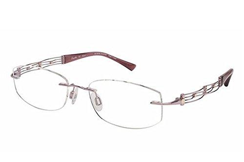 Charmant Line Art Women's Eyeglasses XL2012 XL/2012 PK Pink Optical Frame - Eyeglasses Xl Prescription