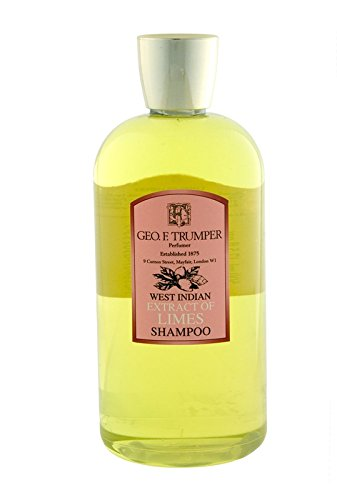 (Geo. F. Trumper Extract of Limes Shampoo Large 500ml Bottle with Pump Dispenser)