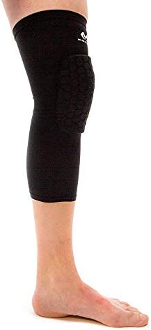 Knee Compression Sleeves: McDavid Hex Knee Pads Compression Leg Sleeve for Basketball, Volleyball, Weightlifting, and More - Pair of Sleeves