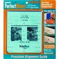 Laurey 98101 Perfect Mount Precision Alignment Template for Drawer Hardware