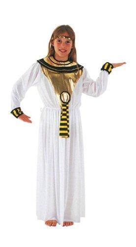 [Cleopatra Egyptian Childs Fancy Dress Costume L 146cms] (Egyptian Woman Costume Uk)