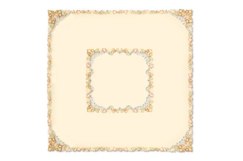 Heritage Lace Maple Square Tablecloth, 60