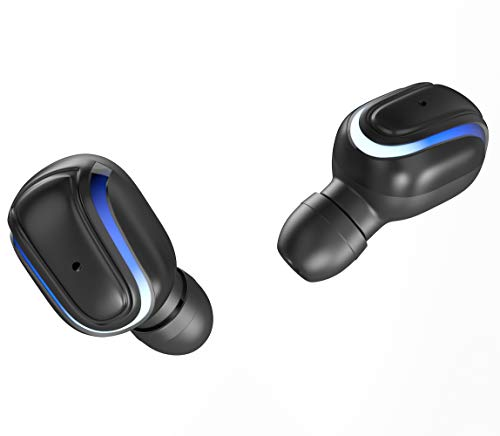 Hottest Selling Bluetooth Earbuds Wireless Bluetooth 5.0 Headphones Charge Bank Bluetooth Earbuds Stereo Earphone Cordless Sport Headsets in-Ear Earphones Built-in Mic Smart Phones Work/Running/Gym