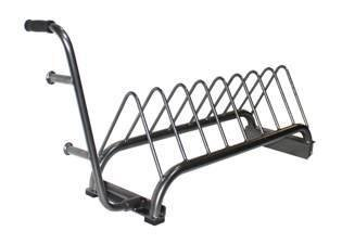 Troy Barbell & Fitness VTX USA Bumper Plate Rack by VTX