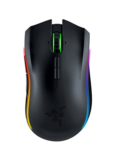 Razer Mamba Chroma - Professional Grade eSports Wired/Wireless Ergonomic Gaming Mouse - 16,000 DPI - Locations Com Spectrum