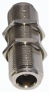 MPD Digital 3-Inch Extra Long N Type Female Threaded Bulkhead Barrel Adapter