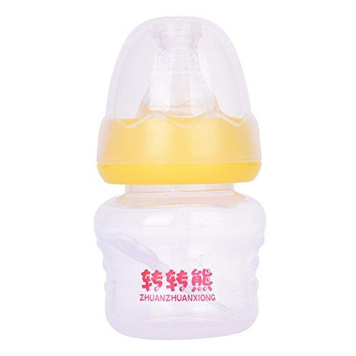 60ml PP Babyflaschen , kleine Flaschen Saft trinken Wasserflasche - Gelb