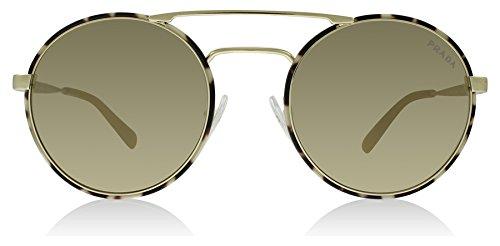 Prada Women's 0PR 51SS Pale Gold/Tortoise/Light Brown/Mirror Gold