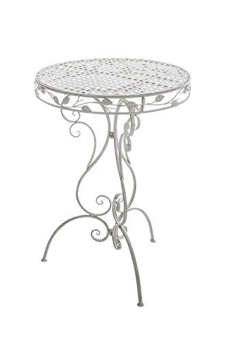 Schöner Stehtisch Für Draußen In Antik Weiß Runder Gartentisch