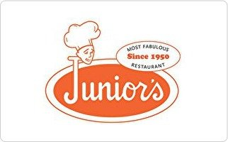 50 Best Cheesecakes (Junior's Restaurant & Cheesecake Gift Card ($50))