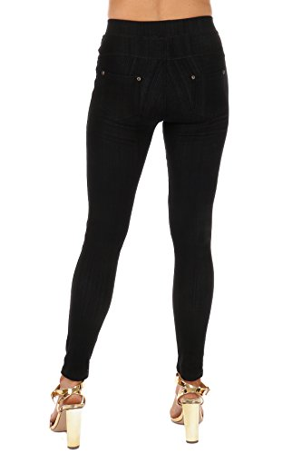 d0da970ea821d8 Premium Soft-Super Stretchy Jeggings for Women- Denim Feel Slim Fit  Leggings Pants-Regular & Plus Size-Cotton Poly Spandex at Amazon Women's  Clothing store: