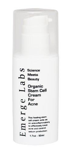Organic Stem Cell Cream For Acne 1.7oz