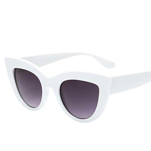 Lenses Gafas de Sunglasses de Flat Ultra Mujer gato sol Frame Light Ojos B Thin Keepwin wI5q8xg1