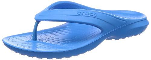 crocs Kids' Classic K Flip Flop, Ocean, 8 M US Toddler