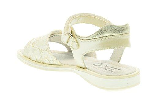 30 sandales P628500F 702 Avorio juniors JARDINS 25 BLACK qCx7UU