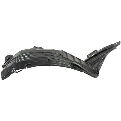 KA LEGEND Front Right Passenger Side Fender Liner Inner Panel Splash Guard Shield for 06-09 350Z 63842CF40A NI1251138 ()