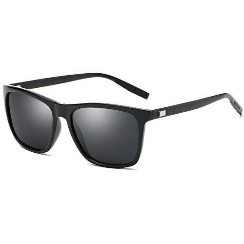 JULI Polarized Fashion Sunglasses for Men - Width Sunglasses
