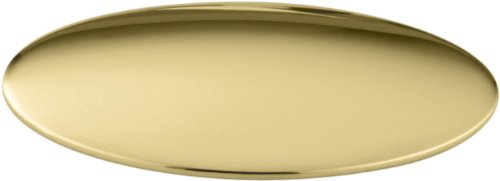 KOHLER K-8830-PB Sink Hole Cover, Vibrant Polished Brass (Vibrant Polished Brass Finish)