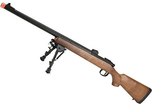 Evike - CYMA VSR-10 Bolt Action Airsoft Sniper Rifle (400~450 FPS) - Wood