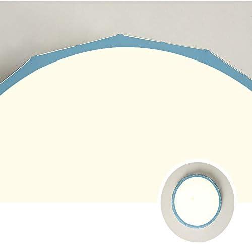 LED Deckenleuchte Modern Dimmbar Deckenlampe, Rund Einfacher Acryl Lampenschirm Indoor Dekorative Dachbeleuchtung, Energiesparend Smart Illuminated 3000-6000K 24W Für Wohnzimmer Schlafzimmer Halle