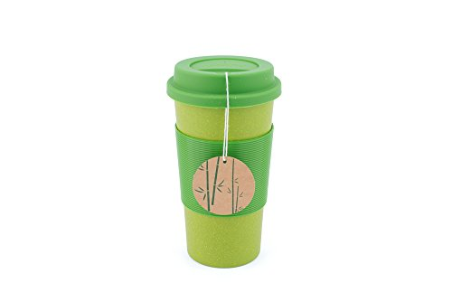 Peterson Housewares BF0265014AGR8 Bamboo Fiber Eco Cup, 22 oz., Green
