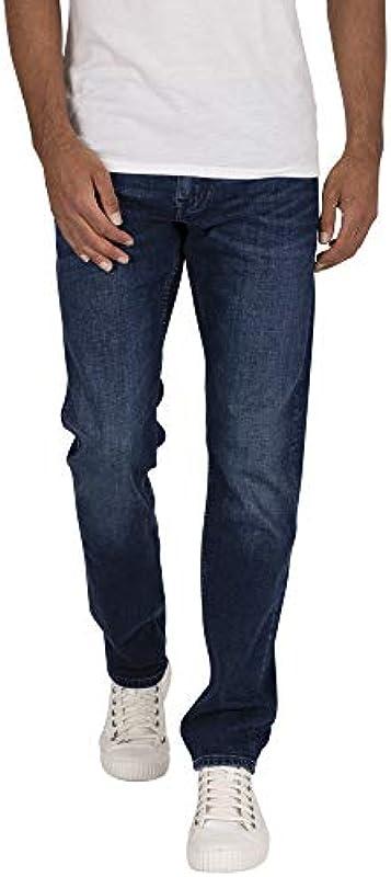 Tommy Hilfiger Męskie Jeans Denton Straight Fit Indigo (59) 30/30: Odzież