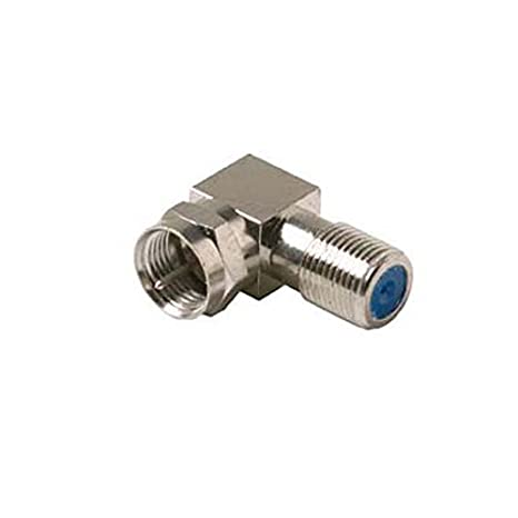 Premium Right Angle 3 GHz F Adapter Adapter High Frequency Commercial Grade 90 Degree RG6 Audio