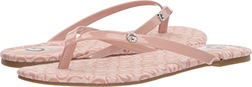 G by GUESS Womens Bayla3 Rose Logo 8.5 - Guess Pink