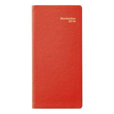 (2019 Manhattan Pocket Diary (Simulated Leather, Red))