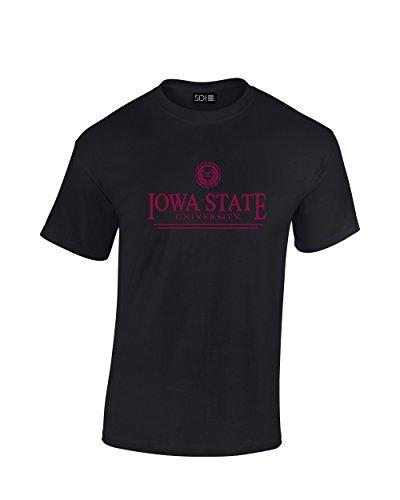 - NCAA Iowa State Cyclones Classic Seal T-Shirt, Medium, Black