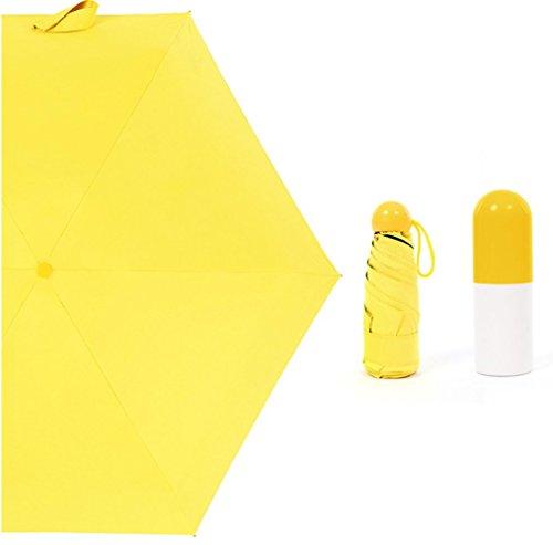 FAFY Cápsula Mini Pocket Umbrella Mujeres Cinco Paraguas ...