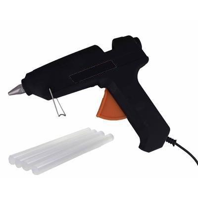 REES52 60W 60 Watt Mega Professional Hot Glue Gun with 5 Pieces Small Glue Sticks Free by REES52
